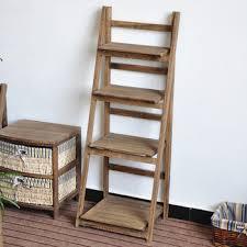 Wooden Ladder Display Stand Wooden ladder shelves wooden display rack wooden display stand 9