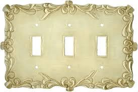 Decorative Light Switch Plates Mariah White Light Switch Plates Outlet Covers Wallplates