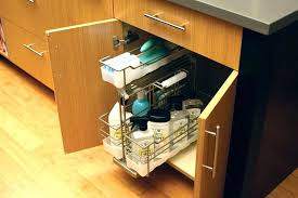 under sink drawers under sink drawer organizer the pull out from supreme cabinetry for storing cleaning supplies unit kitchen under sink drawer