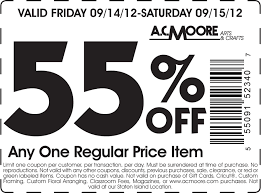 ac moore app off a single item at a c moore crafts coupon via the