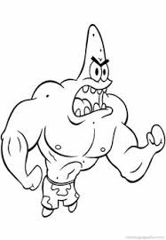 Small Picture Spongebob Patrick Star Coloring Pages 26 Skin care Pinterest