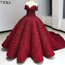 Amazing Lace Ball Gown Evening Dress Red Off Shoulder Beaded Sequins Sparkling Red Carpet Dress Luxury Dubai Evening Gown Celebrity Dress Fashion