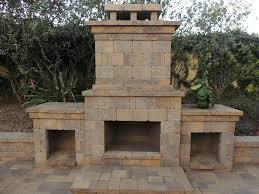outdoor fireplace custom fireplaces screen