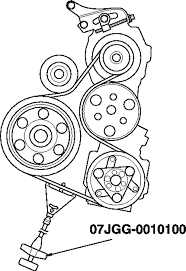 additionally Repair Guides   Engine Mechanical  ponents   Accessory Drive furthermore  likewise Honda CR V Serpentine Belt Replacement  Dayco  Gates  » Go Parts as well Replacing the Starter in a 07 CRV EX L   Intake Manifold Removal in addition SOLVED  Diagram hot to replace a serpentine belt on 2004   Fixya together with 2002 HONDA CRV TENSIONER FAIL   Finding Evidence   YouTube likewise Honda Odyssey 3 0 2002   Auto images and Specification likewise DIY – SERPENTINE DRIVE BELT   PULLEYS  check and replace furthermore 2007 honda crv door trim  2007 honda cr v serpentine belt besides 2003 Honda Element serpentine belt change   YouTube. on 2007 honda cr v serpentine belt repment