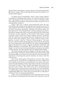 book review unger beyond nature s housekeepers american women  pdf extract preview