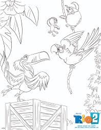 Small Picture Image Rio2 printables coloring 6jpg Rio Wiki FANDOM powered