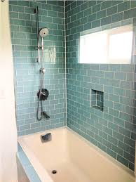 Glass Tile Bathrooms Subway Tile Showers Zampco