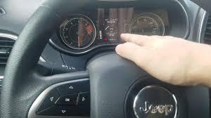 2019 jeep cherokee maintenance light