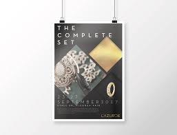Lazurde Designs Lazurde Vicenzaoro Exhibition Poster On Behance