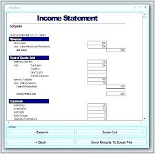 Income Statement Format Excel Income Statement Template Excel 2007 For Tailoredswift Co