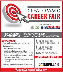 Greater Waco Career Fair Greater Waco Chamber