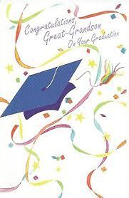 Amazon Com Congratulations Great Grandson On Your Graduation Grad