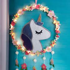 product image for diy unicorn fl dream catcher