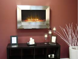 fire sense stainless steel wall mounted electric fireplace fir fir 02682 by patio com