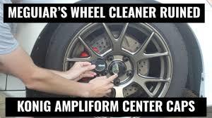 <b>Konig Ampliform</b> Wheels on an RSX - Replacing Damaged Center ...