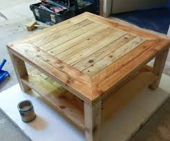 Instructables Coffee Table Pallet Table Update 6 Steps With Pictures