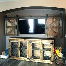 barn door fireplace tv stand rustic electric fireplace stand full size of barn door electric fireplace