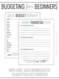 simple printable budget worksheet free budget worksheet budgeting tips budgeting worksheets