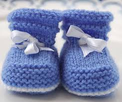 Free Baby Booties Knitting Pattern
