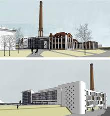 Дипломный проект Архитектура и проектирование Архитектурные  Реконструкция ЦЭС под межвузовский научно культурный центр в Омске