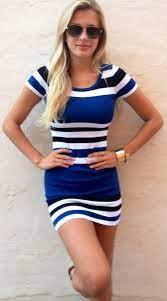 Marino Striped Dress Bocaleche   Stylish outfits, Fashion, Style