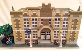 Lego Full House Lego Ideas High School Lego Modular