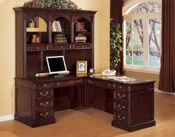 home office desk and hutch. delighful and dmi wellington lshaped desk and hutch to home office and m