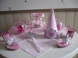 Décoration de table pour un baptême sur le thème féerique . - les p ...