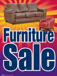 furniture sale sign. Plastic Window Sign: Furniture Sale Sign A