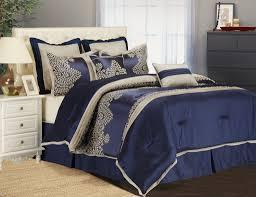 blue comforter sets queen size