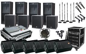 sound system. sound system hire i