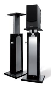 speakers with stands. stand up! speakers with stands e
