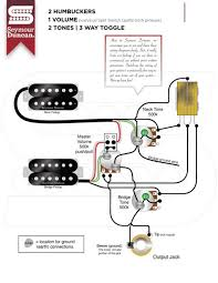 Wiring Diagrams For Split Humbuckers 1 Volume 1 Tone Electric Guitar Single Pickup Wiring Diagrams