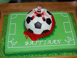AIn soccer birthday cake for 13 year old
