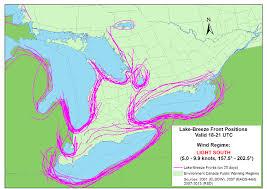 Lake Breeze Front Locator Charts Sills May 2014