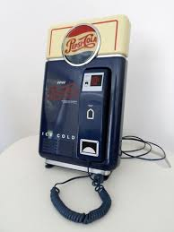 Pepsi Vending Machine Serial Number Cool Vintage Pepsi Vending Machine Phone Plastic Including Supports