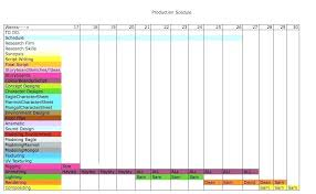 Film Production Calendar Template 5 Production Timeline Templates Excel Free Premium Template Design