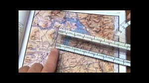 How To Use A Plotter On A Sectional Chart Using The Navigational Plotter Example 1