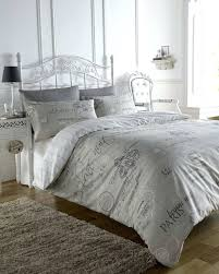 duvet cover set in a natural stone colour this bed linen set comes in single double