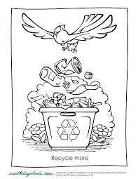 Free Earth Day Coloring Sheets For Kindergarten Printable Pages