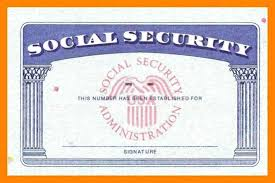 Ss Social Blank - Unconventional Template 10 Card Security Ssn