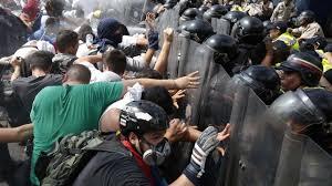 Resultado de imagen para imagenes de protestas en venezuela 2017