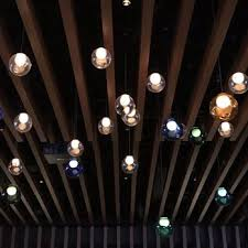 photo of cactus club cafe vancouver bc canada decorative lights on the