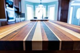 edge grain butcher block countertops multi color
