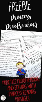 best ideas about editing marks writing princess proofreading activity is a fun resource where students will be able to convey their knowledge of editing marks punctuation spelling and