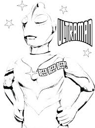 ultraman coloring coloring page by coloring page by ultraman coloring book free