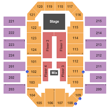James Brown Seating Chart James Brown Arena Seating Charts For All 2019 Events
