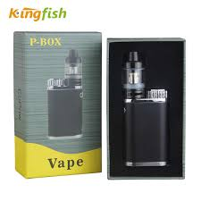 <b>Kingfish P</b>-<b>BOX</b> e cigarette <b>Top</b> filling Atomizer Subox Mini Vape <b>Kit</b> ...