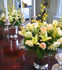 dining table centerpieces flowers  Dining room decor ideas and showcase  design
