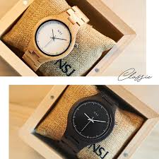 wooden couple watch msia seller